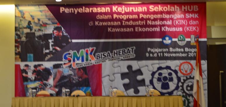 Penyelarasan Kurikulum Kejuruan Sekolah HUB dalam Program Pengembangan Kawasan Industri Nasional/KEK