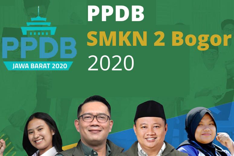 Informasi PPDB SMK Negeri 2 Bogor Tahun 2020