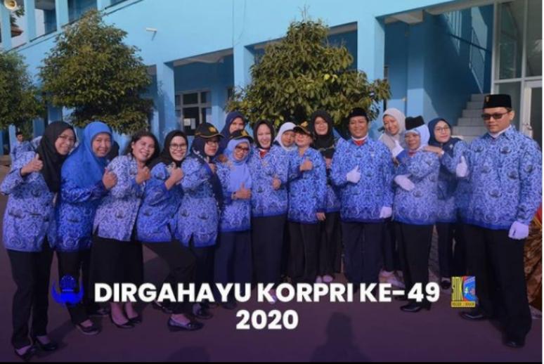 Dirgahayu HUT Korpri ke-49 Tahun 2020